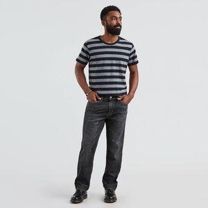 Levi's Jeans - Mens levis 541 athletic taper fit black grey jeans